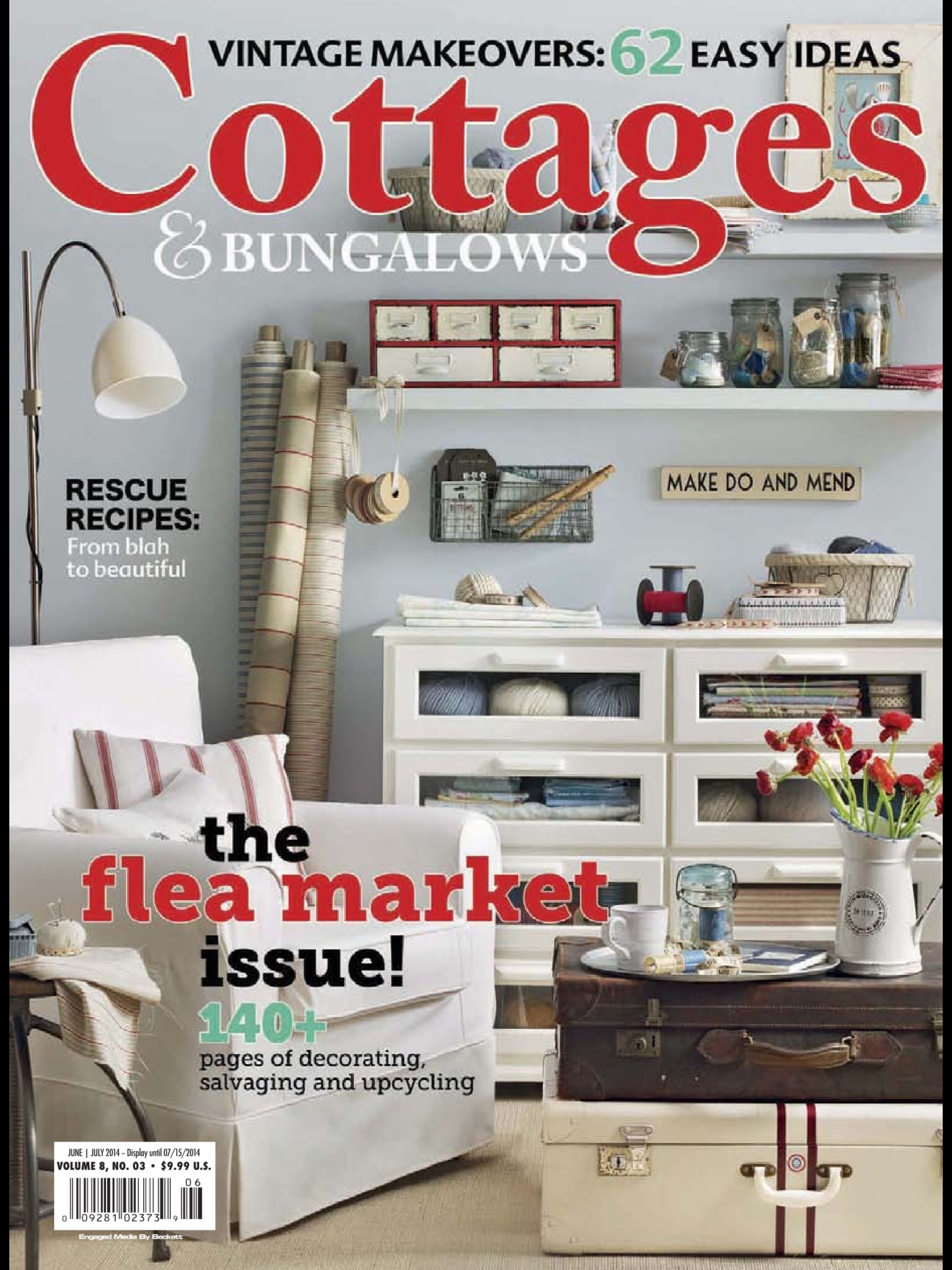 Cottages and Bungalows Magazine Cover 2014