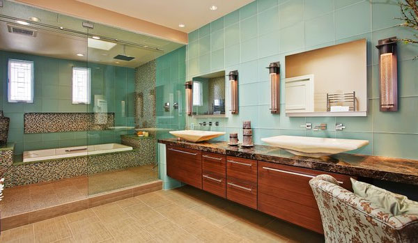 Japanese style bathroom design home decoration live for Bathroom designs japanese style