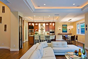 Keep Your Options Open: Kitchens in Open Floor Plans for Your Whole Home Remodel