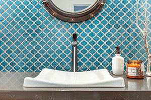 Make a Big Impression in a Small Space: Powder Rooms in Your Whole Home Remodel