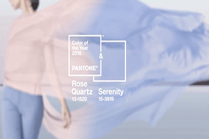 Double Take: Pantone Names Two Colors – Rose Quartz and Serenity – as the 2016 Color of the Year