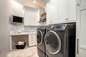 Clean and Serene 2016: Elegant and Efficient Laundry Rooms