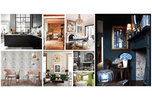 """More is More"" in a Year of Bold, Moody Glamour: 2017 Top Interior Design Trends for Your Whole Home Remodel"