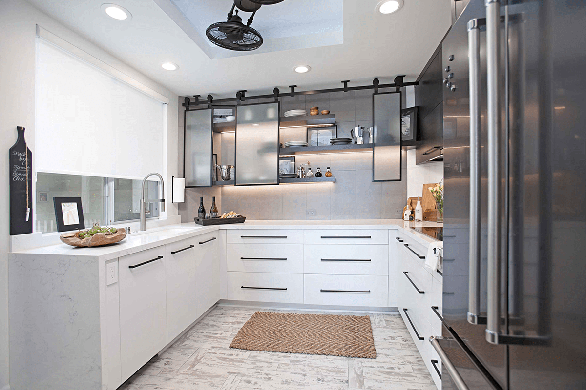 Designing in Black and White: A Classic Color Palette for Your Whole Home Remodel