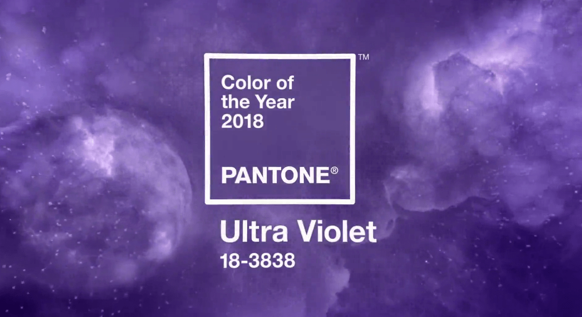 "Lighting the Way to the Future: ""Ultra Violet"" is Pantone's 2018 Color of the Year"
