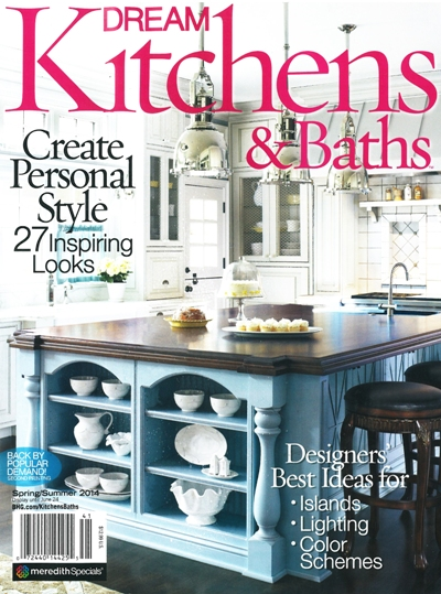 Dream Kitchens & Baths Magazine Cover 2014