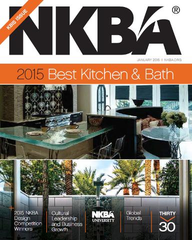 NKBA January 2015 cover