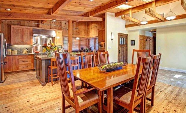 Cedar Kitchen Island