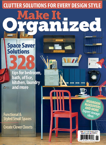 Make It Organized Spring 2015 cover