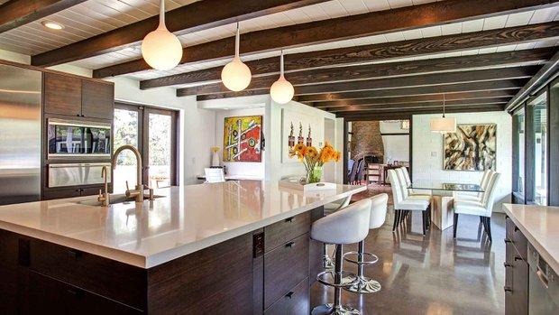 Midcentury Kitchen Gets Update Jackson Design Remodeling