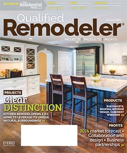 Qualifed Remodeler January 2014 Cover