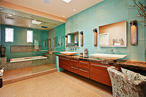 Romantic Design in Your Whole Home Remodel: Make Your Master Bathroom a Luxurious Pleasure