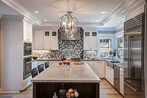 Stainless Steel in Your Kitchen Design: Classic Luxury Shines On