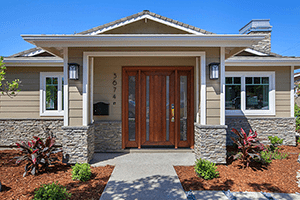 Trick or Treat! A Welcoming Front Door for Your Whole Home Remodel