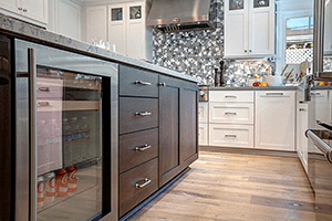 Cool Holiday Entertaining: Add a Wine Refrigerator in Your Kitchen Remodel