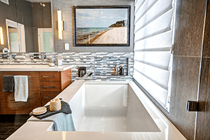 Relax Before the Holiday Rush with a Luxurious Bath in Your Whole Home Remodel