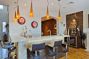 Toast the Holidays! Bars and Wine Closets in Your Whole Home Remodel