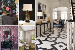 The Top Interior Design Trends for 2016: From Geometric Patterns and Natural Minerals to Black Steel Industrial Doors
