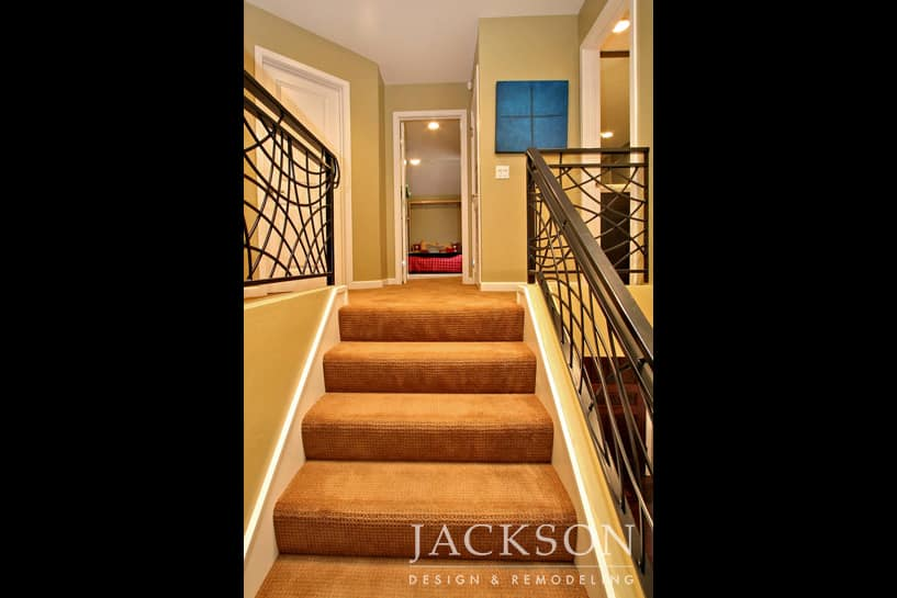 Great The Meticulous Lines Of The Custom Wrought Iron Railing On These  Award Winning Stairs Create A Memorable Work Of Art. Living With Artistic  Detail And ...