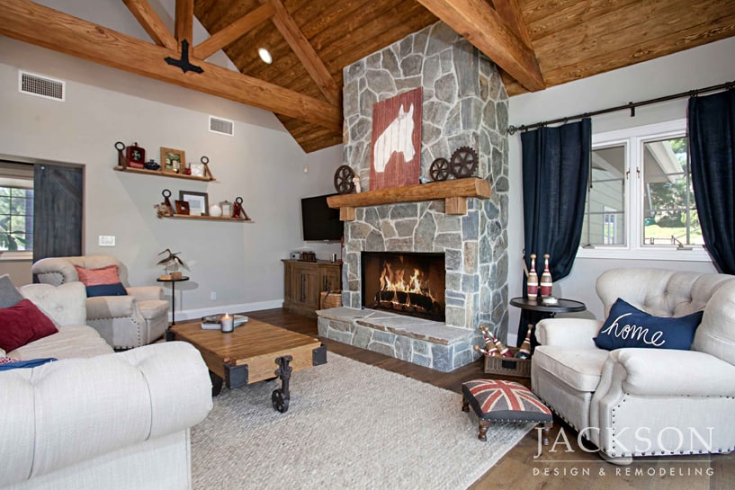 Fireplace Design And Remodel In San Diego