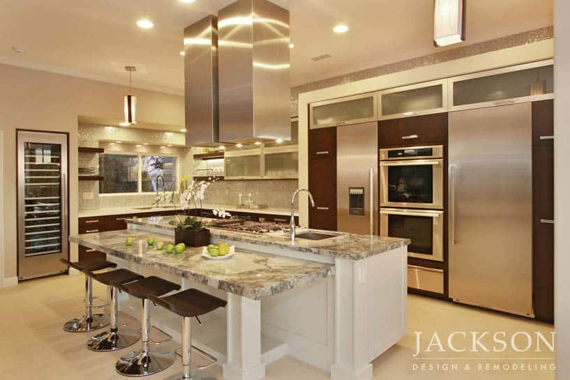 kitchen design and remodeling. This multiple award winning kitchen includes many universal design features  while carefully avoiding a clinical appearance Custom Kitchen Remodeling in San Diego Jackson Design