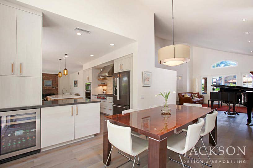 ... Suburban Kitchen While Retaining A Sense Of Place. Now Open And Full Of  Light, This Kitchen And Living Space Beautifully Inhabits Its Surroundings.