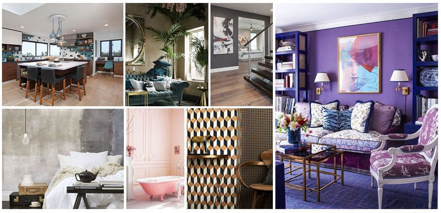 An Imaginative Year Expressing Intensity and Simplicity: 18 Top Interior Design Trends for 2018