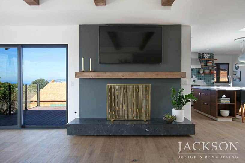 Fireplace Design And Remodel In San Diego Jackson Design Amp Remodeling