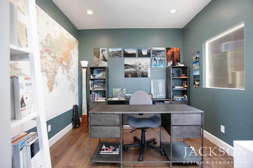 Home Office Remodeling In San Diego Jackson Design Remodeling