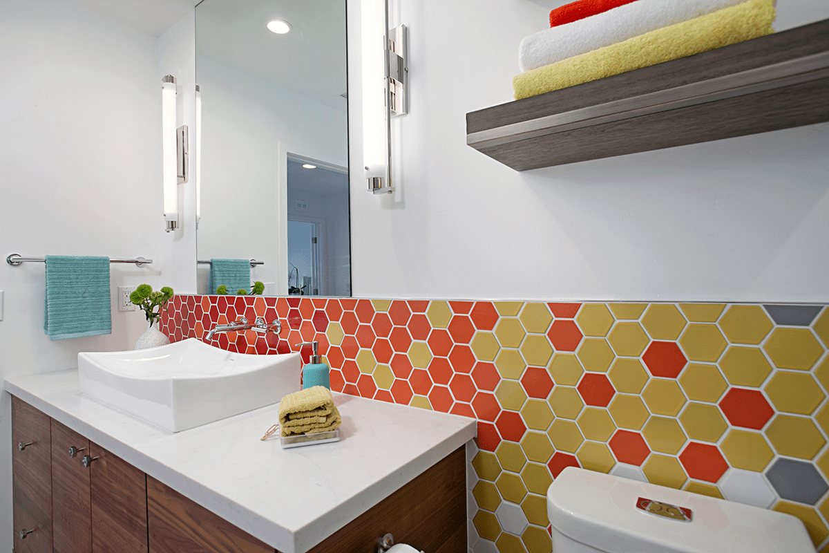 Happy Valentine's Day! Let's Fall in Love with the Geometric Trend for Your Whole Home Remodel