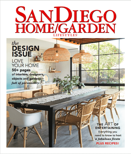 San Diego Home and Garden Lifestyle Cover