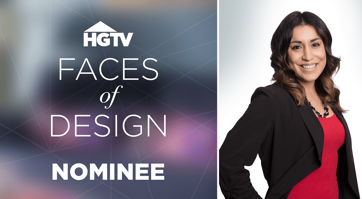 HGTV Nominates JDR Designer in Faces of Design Contest