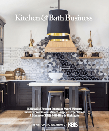 Kitchen and Bath Business October 2018 Cover
