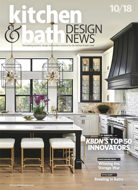 Kitchen and Bath Design October 2018 Cover