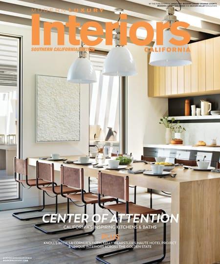 Modern Luxury Interiors California October Cover