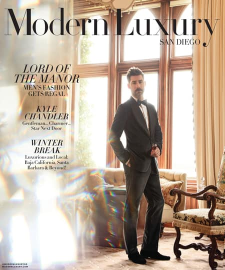 Modern Luxury San Diego October Cover