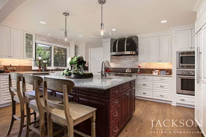 Modern Farmhouse Kitchen Jackson Design Remodeling
