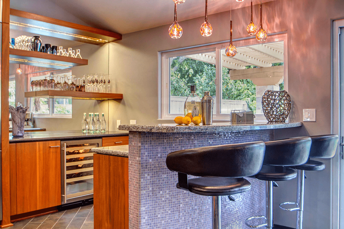 Cheers to New Year's Eve! Bars for Entertaining in Your New Home or Whole Home Remodel