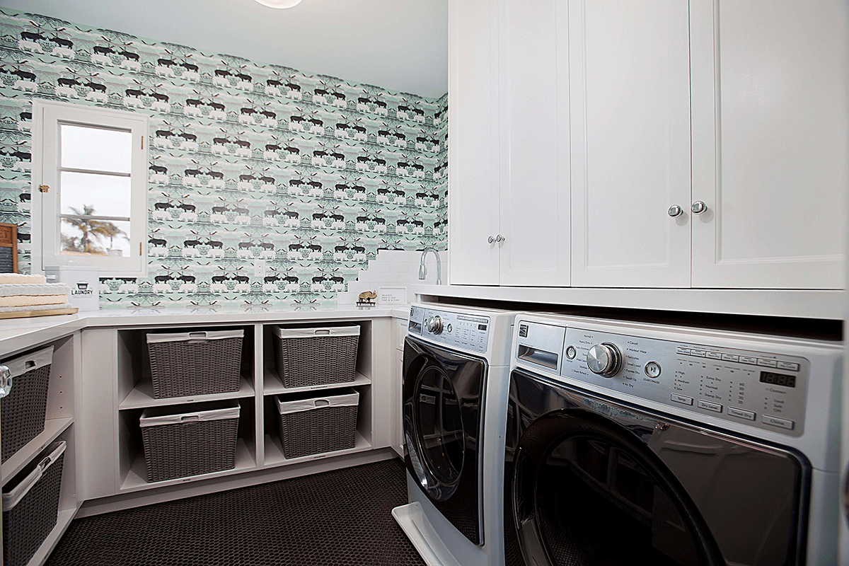 Fresh and Clean in 2019: Laundry Room Design in Your New Home or Whole Home Remodel