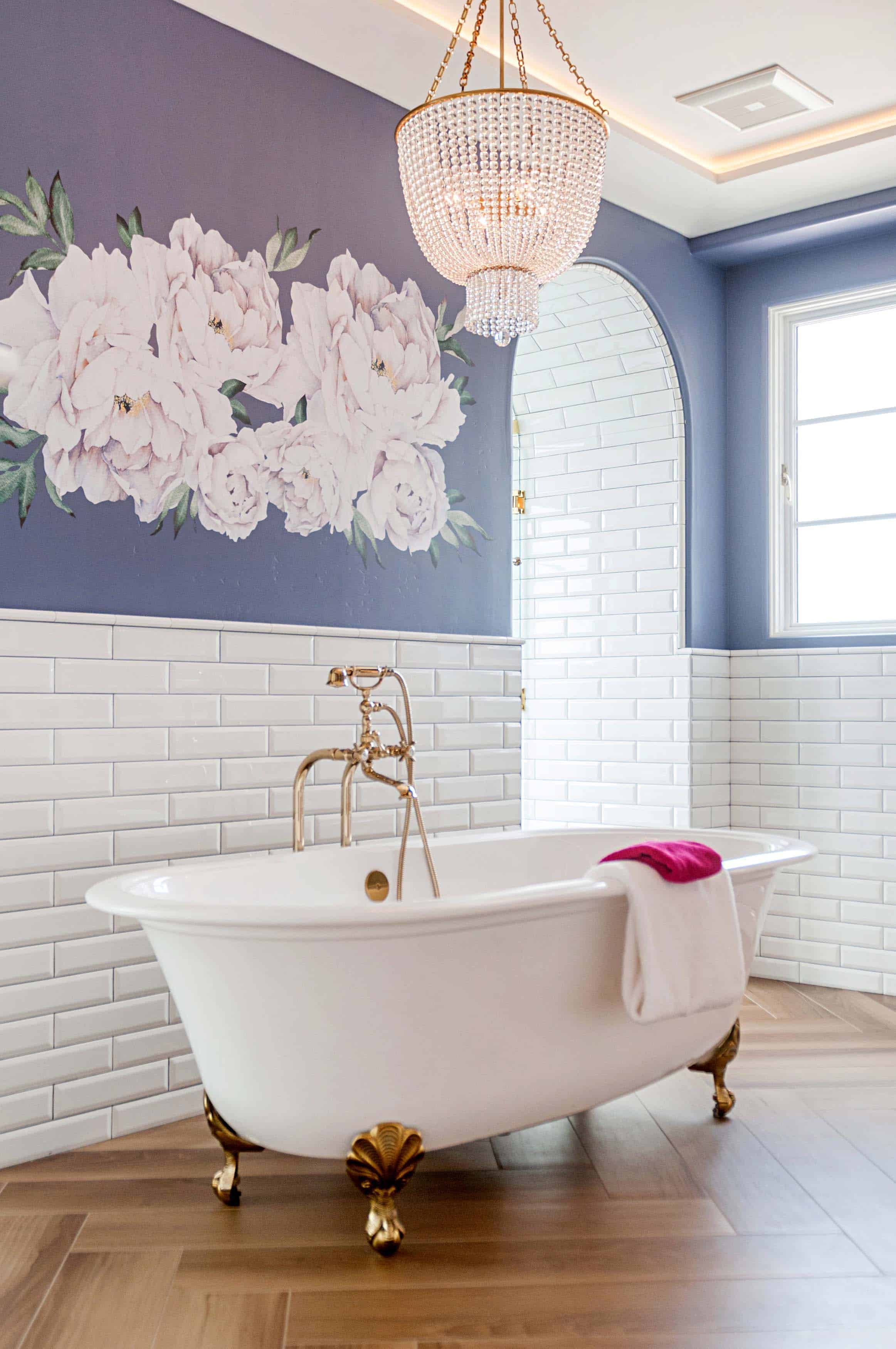 Self Care on Valentine's Day: A Luxurious Bath in Your New Home or Whole Home Remodel