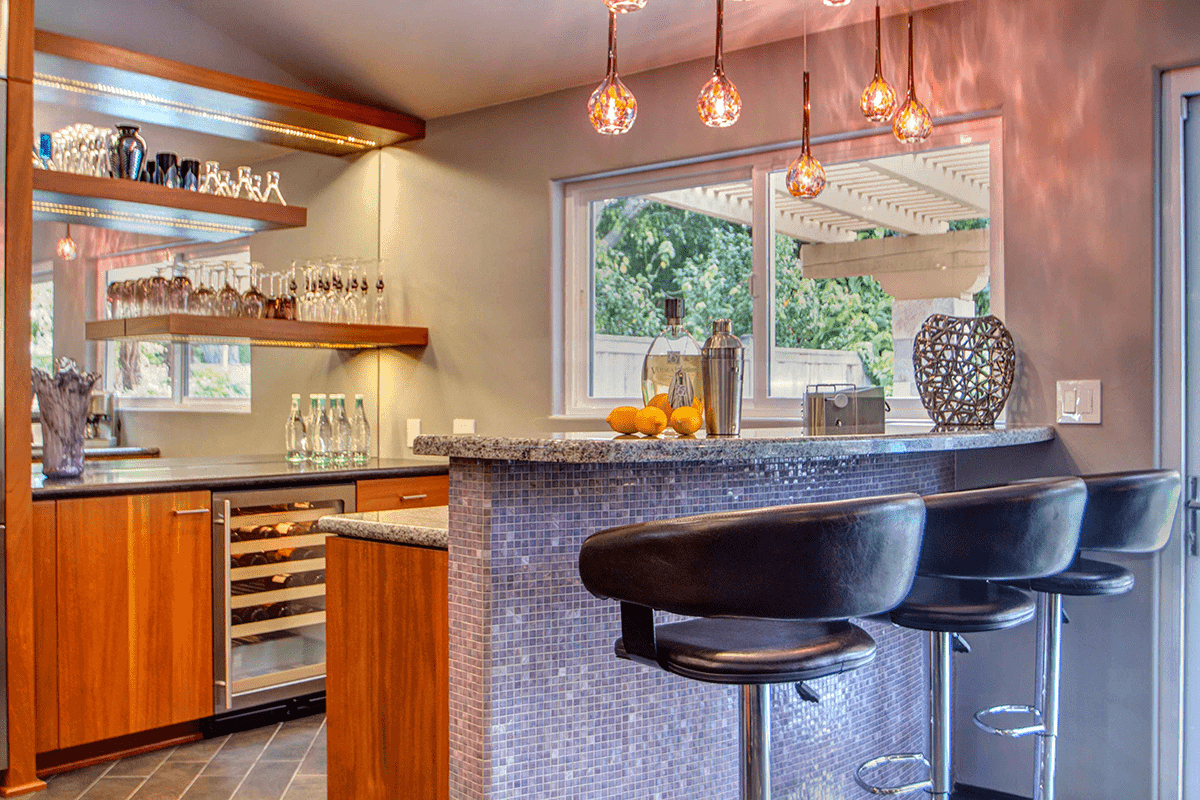 Bars For Entertaining In Your New Home Or Whole Remodel