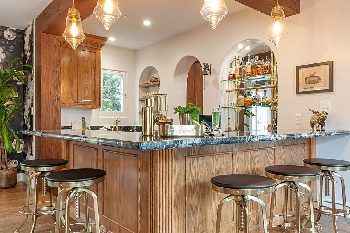 Toast to the Irish! Celebrate St. Patrick's Day at Home with a Bar in Your New Home or Whole Home Remodel