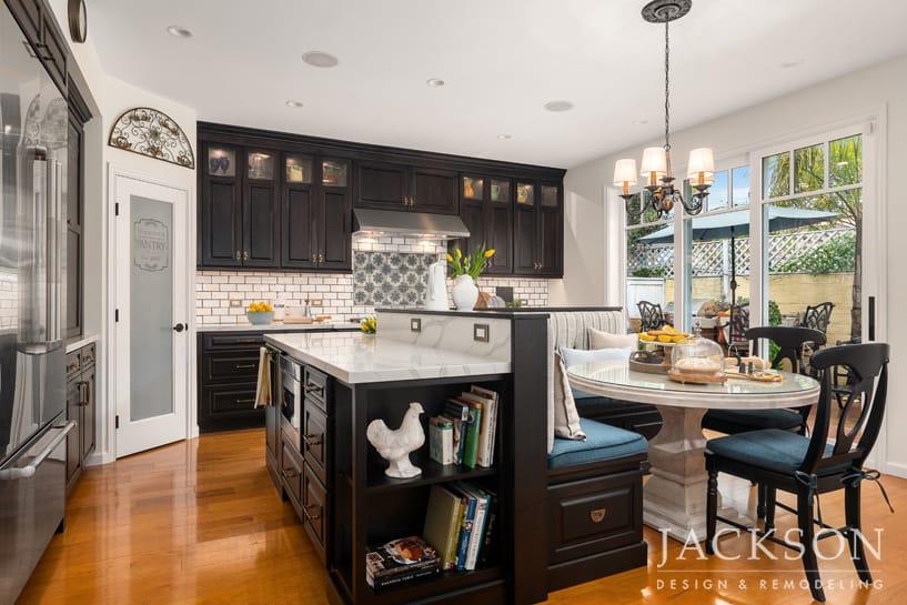 Old World Inspired Kitchen Jackson Design Remodeling